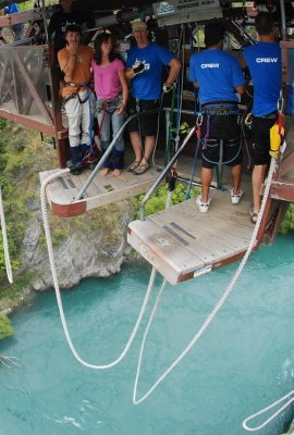 January 25th, AJ Hackett Bungy